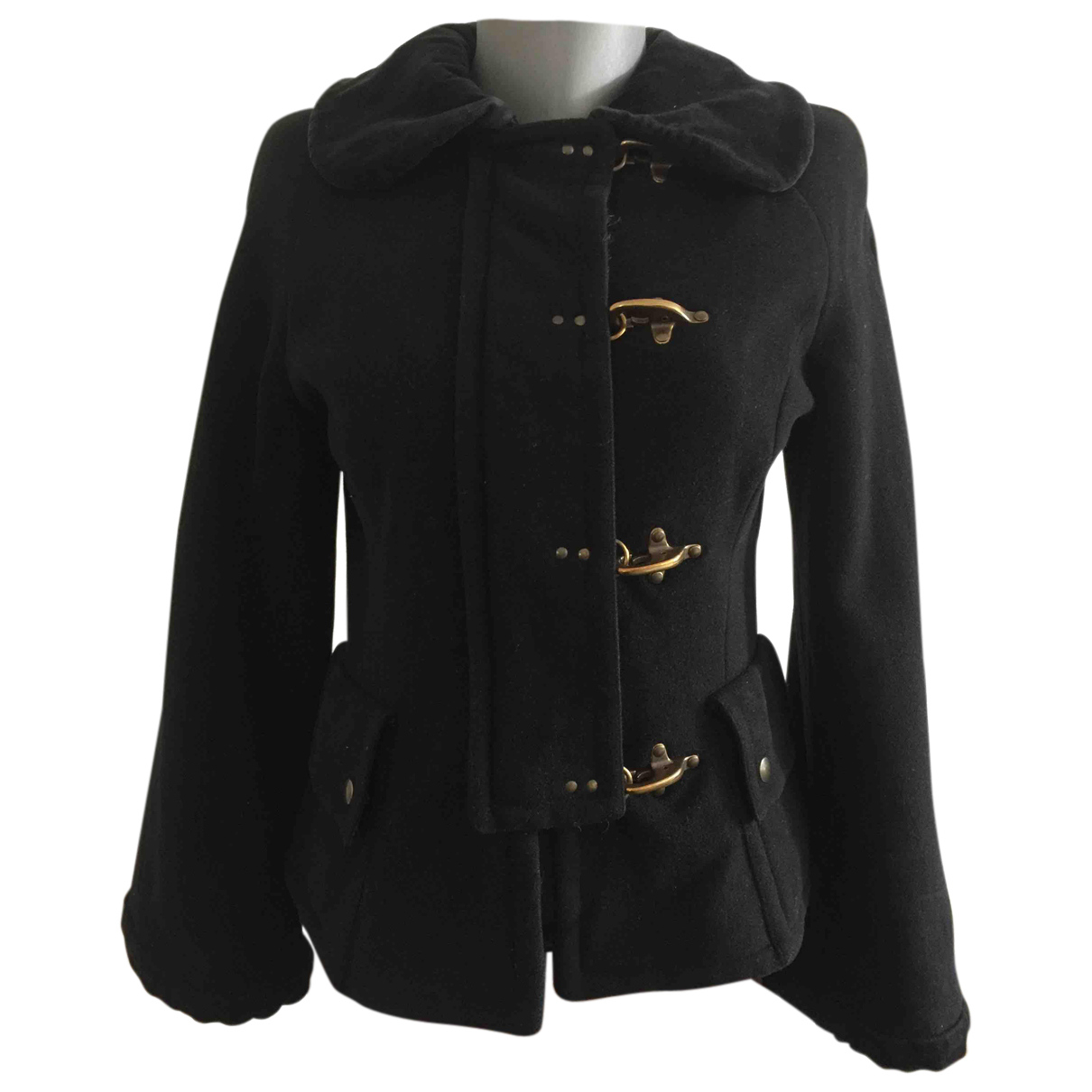 Moschino Cheap And Chic N Black Wool jacket for Women 40 FR