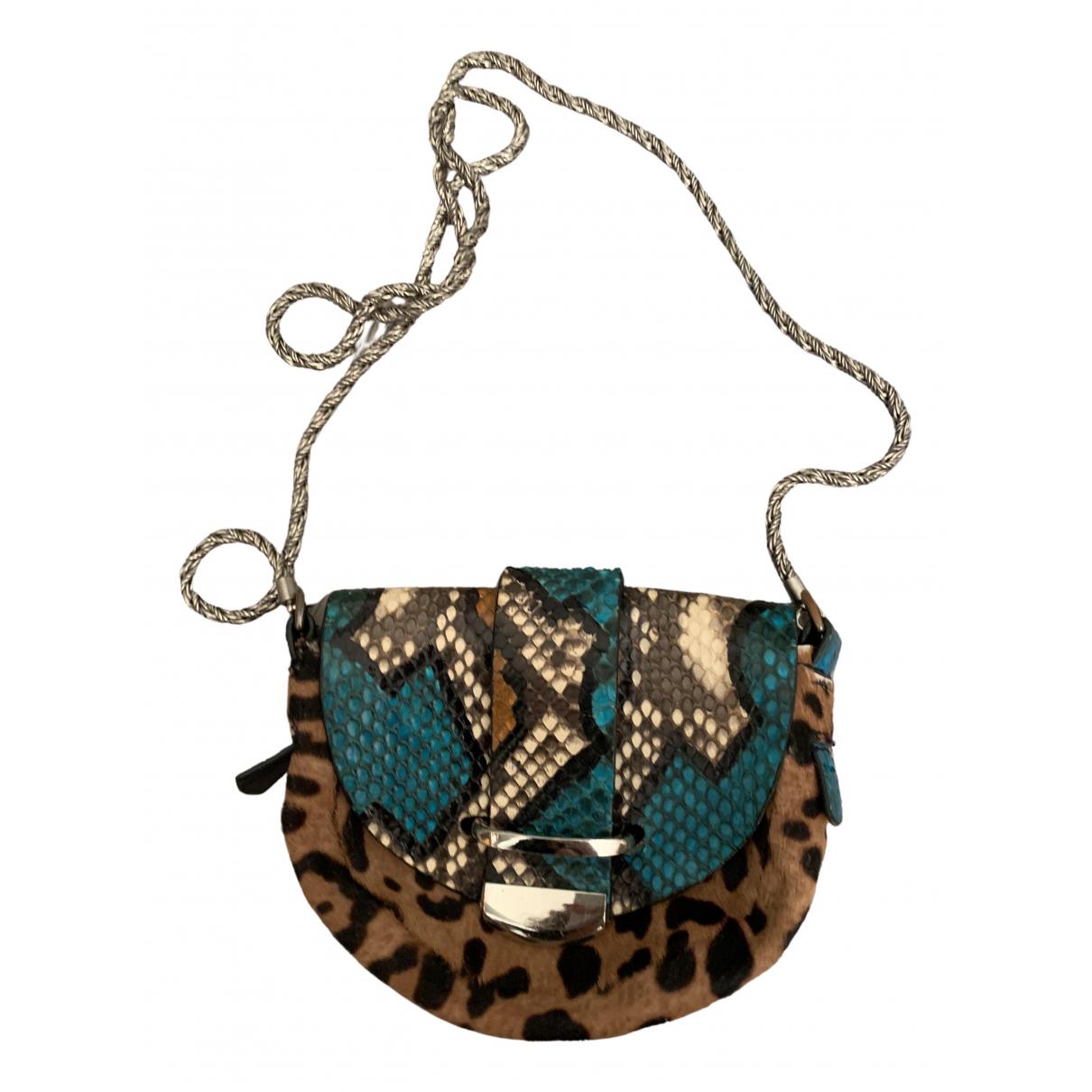 Delphine Delafon \N Multicolour Leather handbag for Women \N