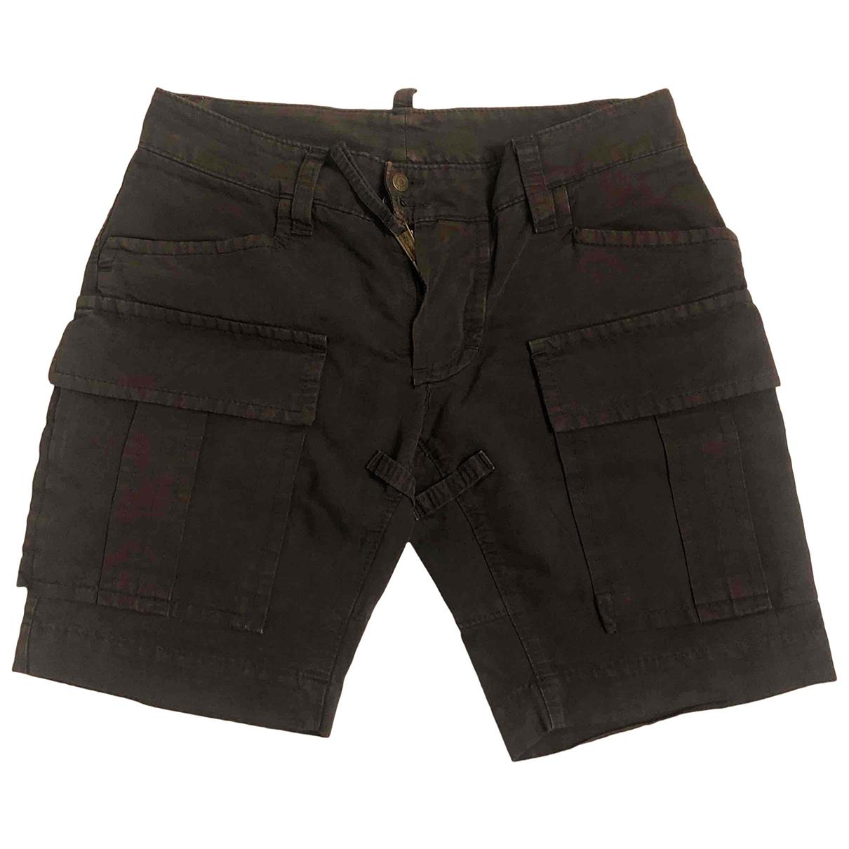 Dsquared2 \N Brown Cotton Shorts for Men 44 IT