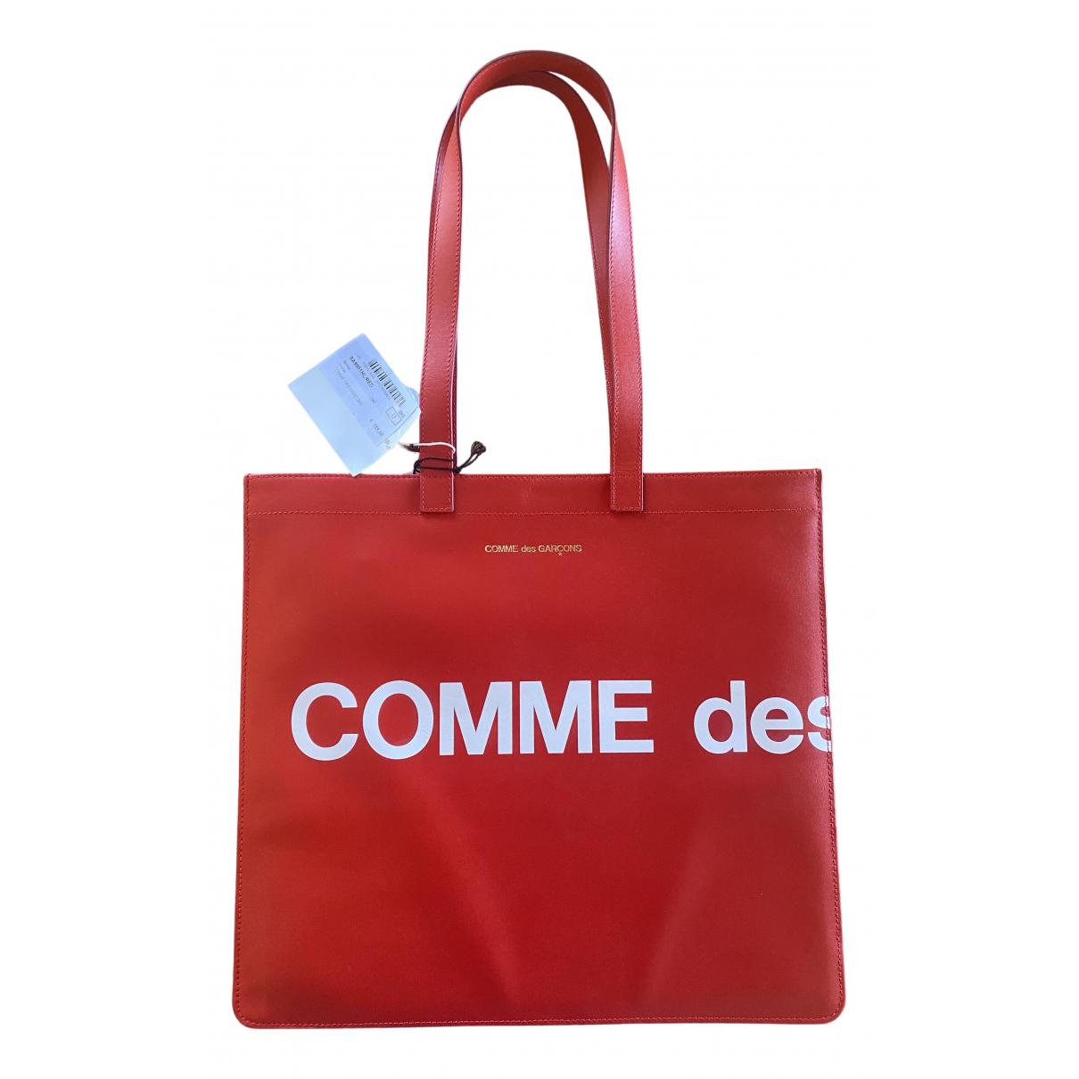 Comme Des Garcons N Red Leather handbag for Women N