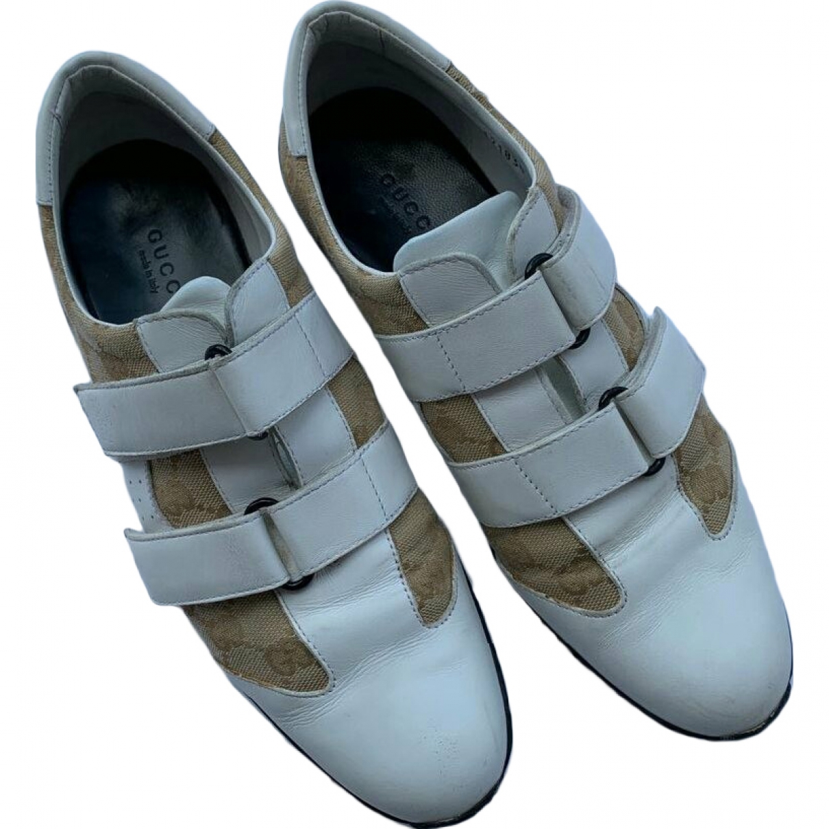 Gucci \N White Leather Trainers for Women 39 EU