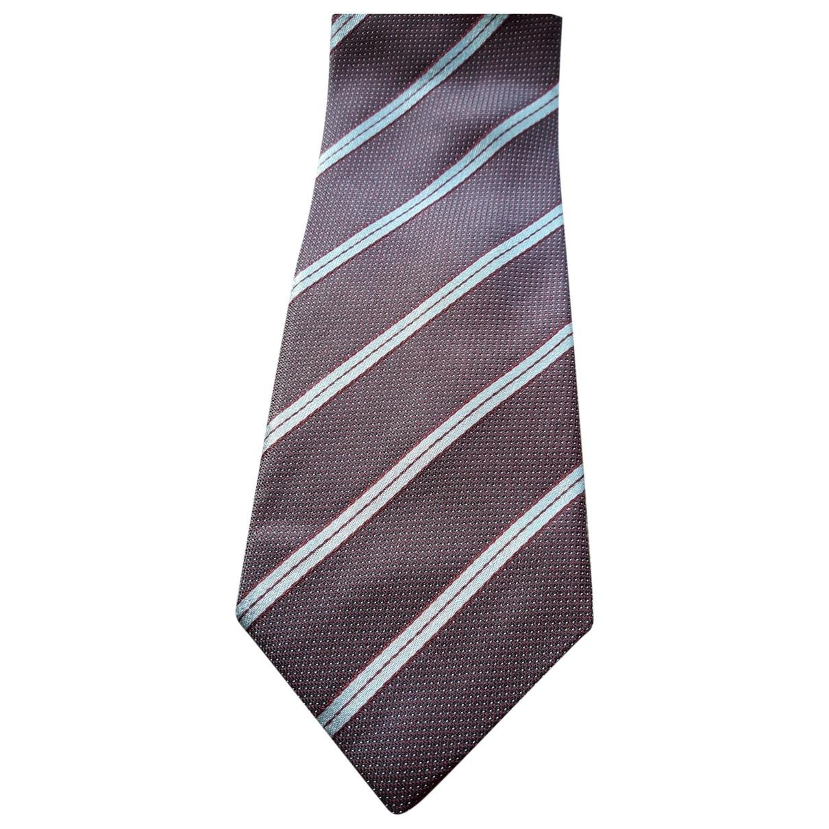 Calvin Klein - Cravates   pour homme en soie - metallise