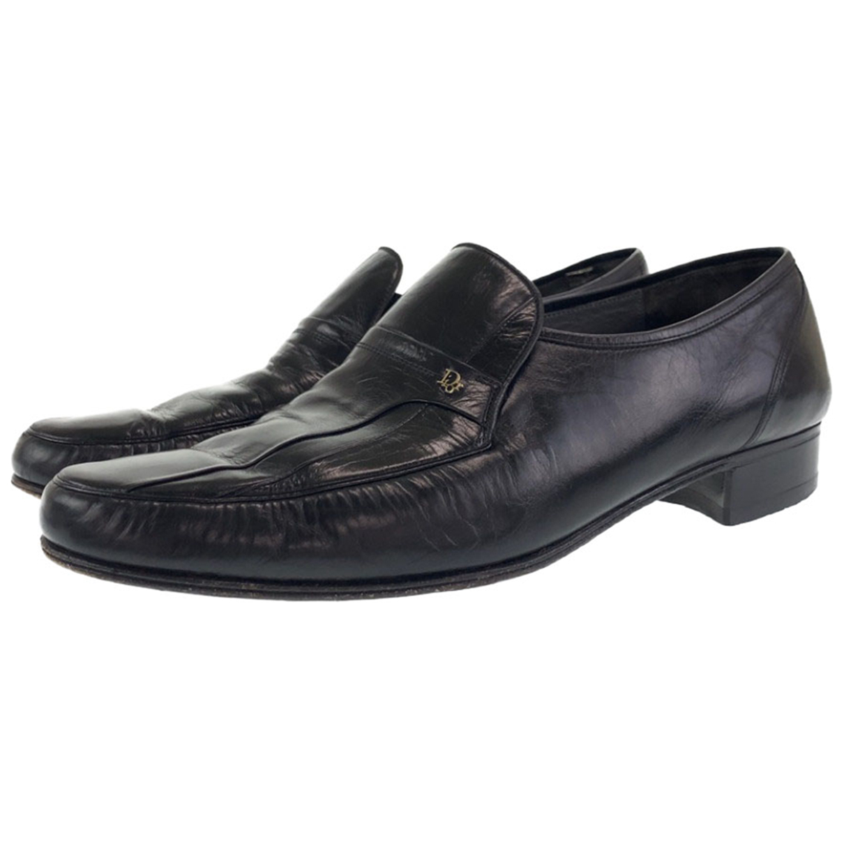 Christian Dior N Leather Flats for Men 43 EU