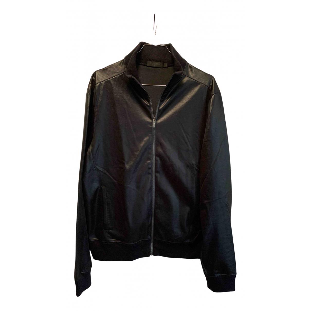 Calvin Klein Collection - Vestes.Blousons   pour homme en coton - marine