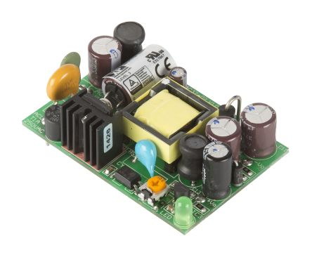 XP Power , 10W AC-DC Converter, 5V dc, Open Frame, Medical Approved