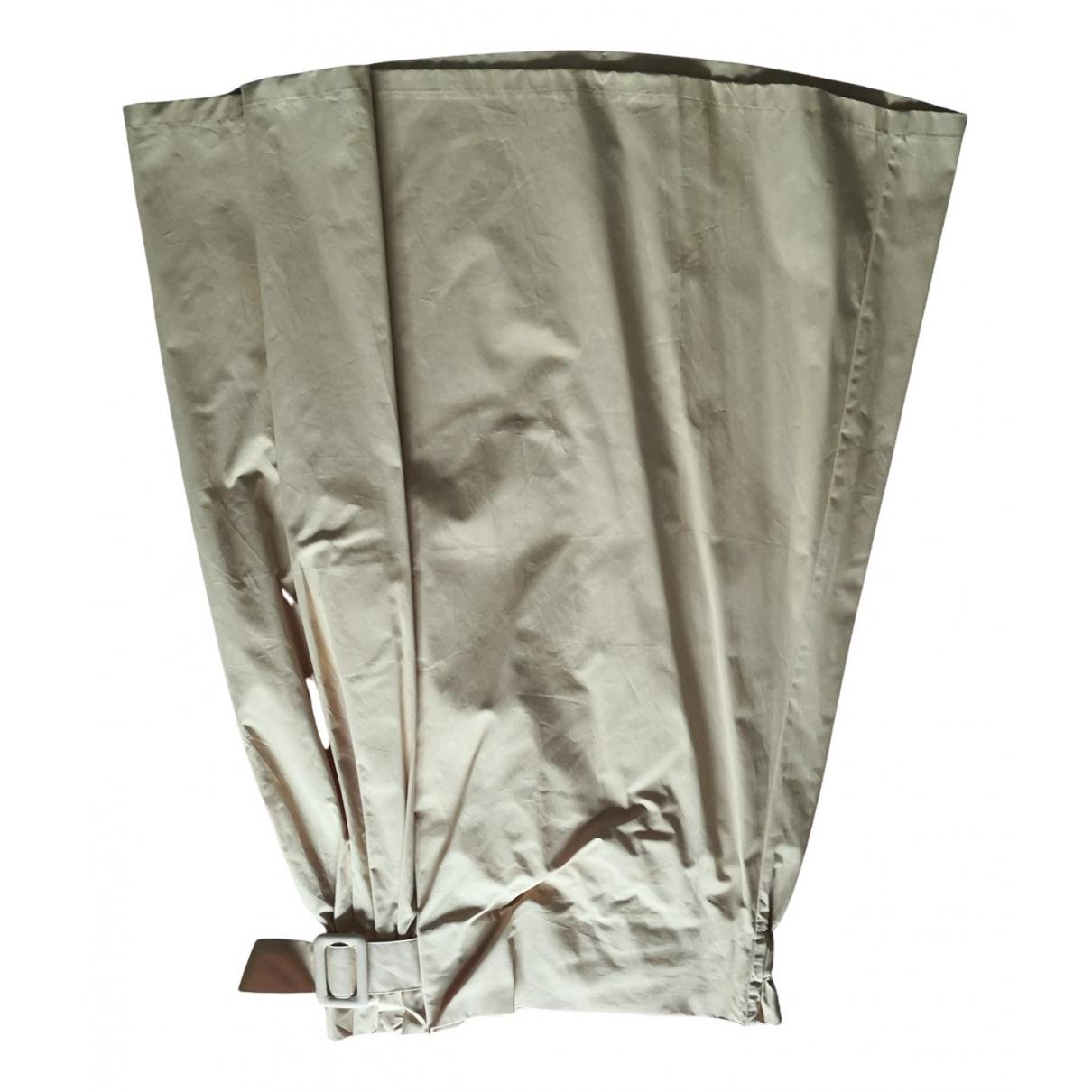Zara N Yellow Cotton skirt for Women XL International