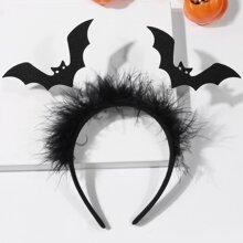 Halloween Bat Hair Hoop