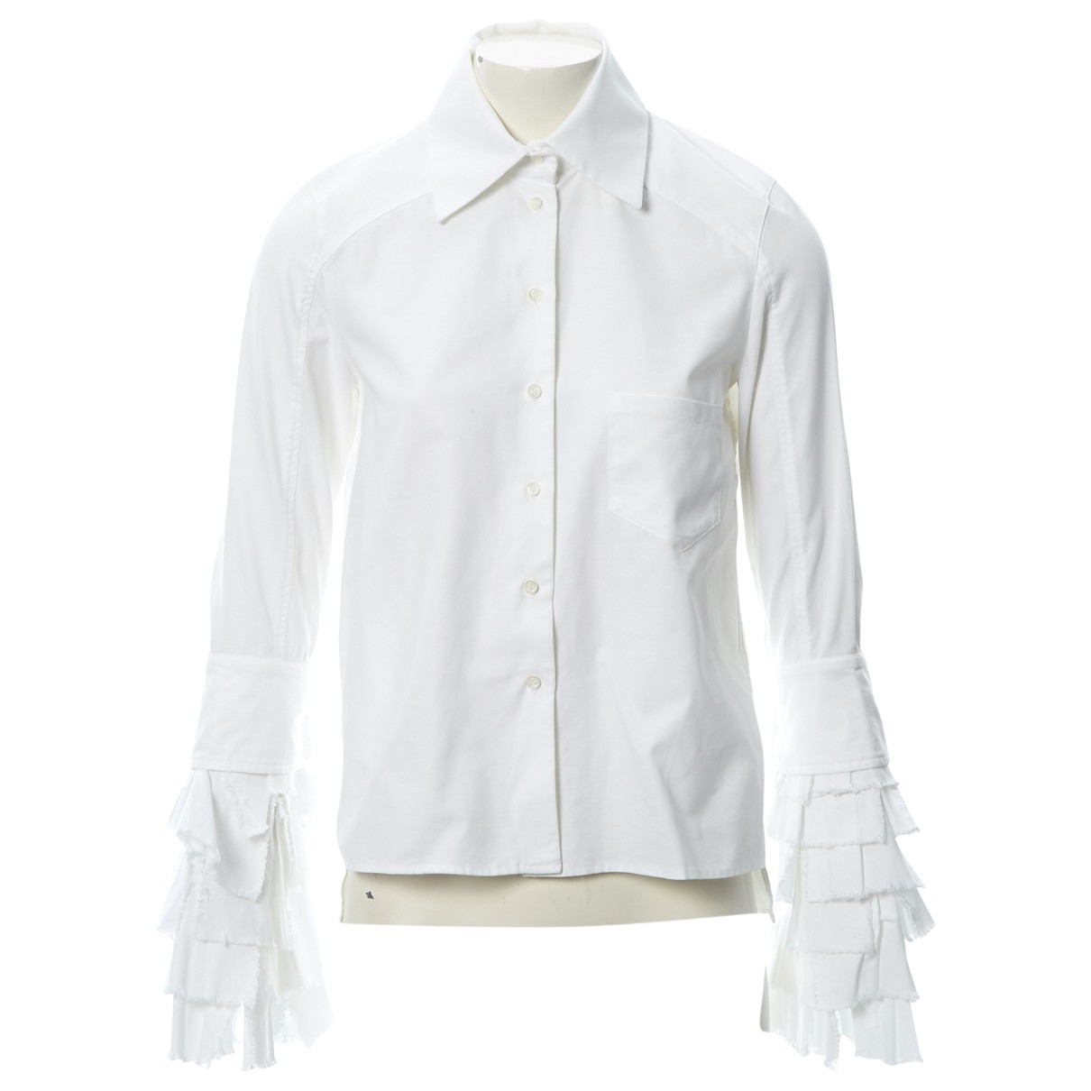 Givenchy \N White Cotton  top for Women 38 FR