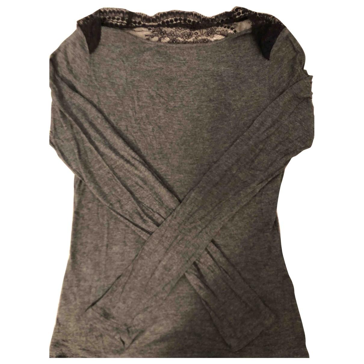 La Perla - Top   pour femme en coton - anthracite