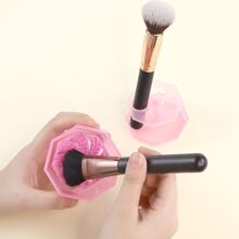 Herramienta de limpieza de pincel de maquillaje