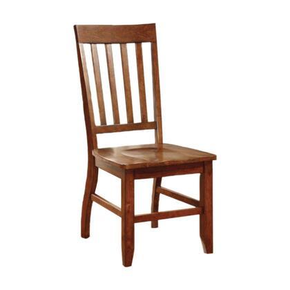 BM131273 Foster I Transitional Side Chair  Dark Oak Finish  Set Of