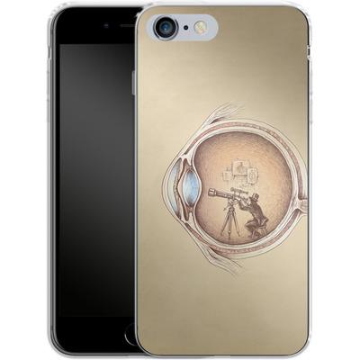 Apple iPhone 6s Plus Silikon Handyhuelle - Extraordinary Observer von Enkel Dika