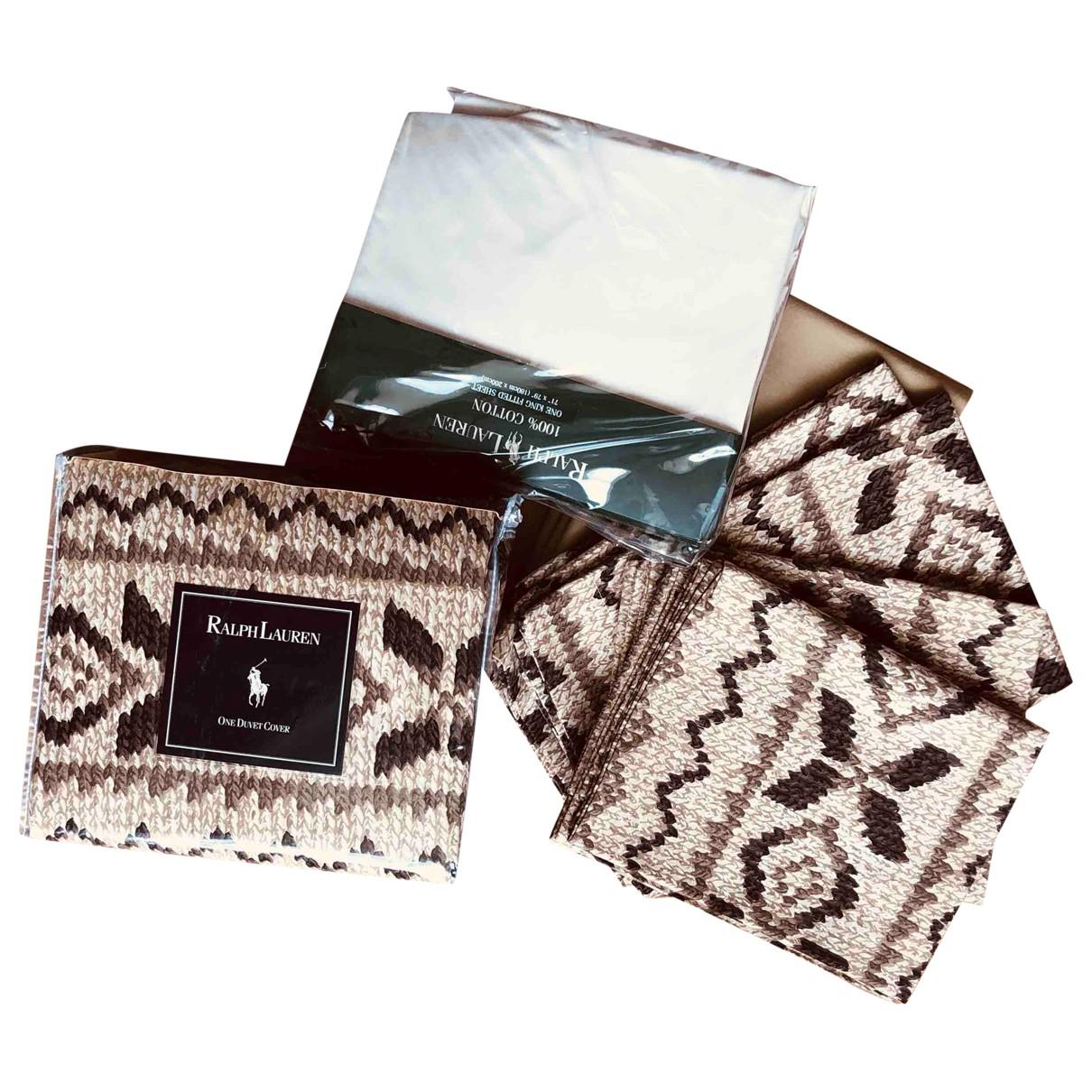 Ralph Lauren - Linge de maison   pour lifestyle en coton