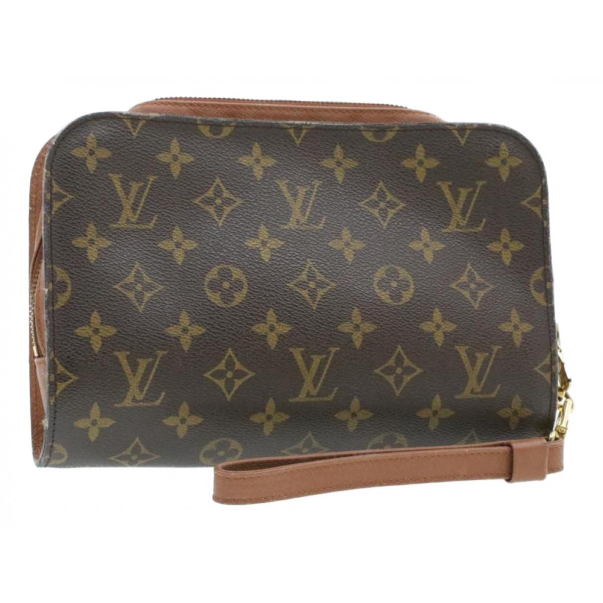Louis Vuitton Orsay Brown Cloth Clutch bag for Women \N