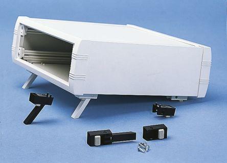 METCASE Mettec White Aluminium Project Box, 160 x 130 x 85mm