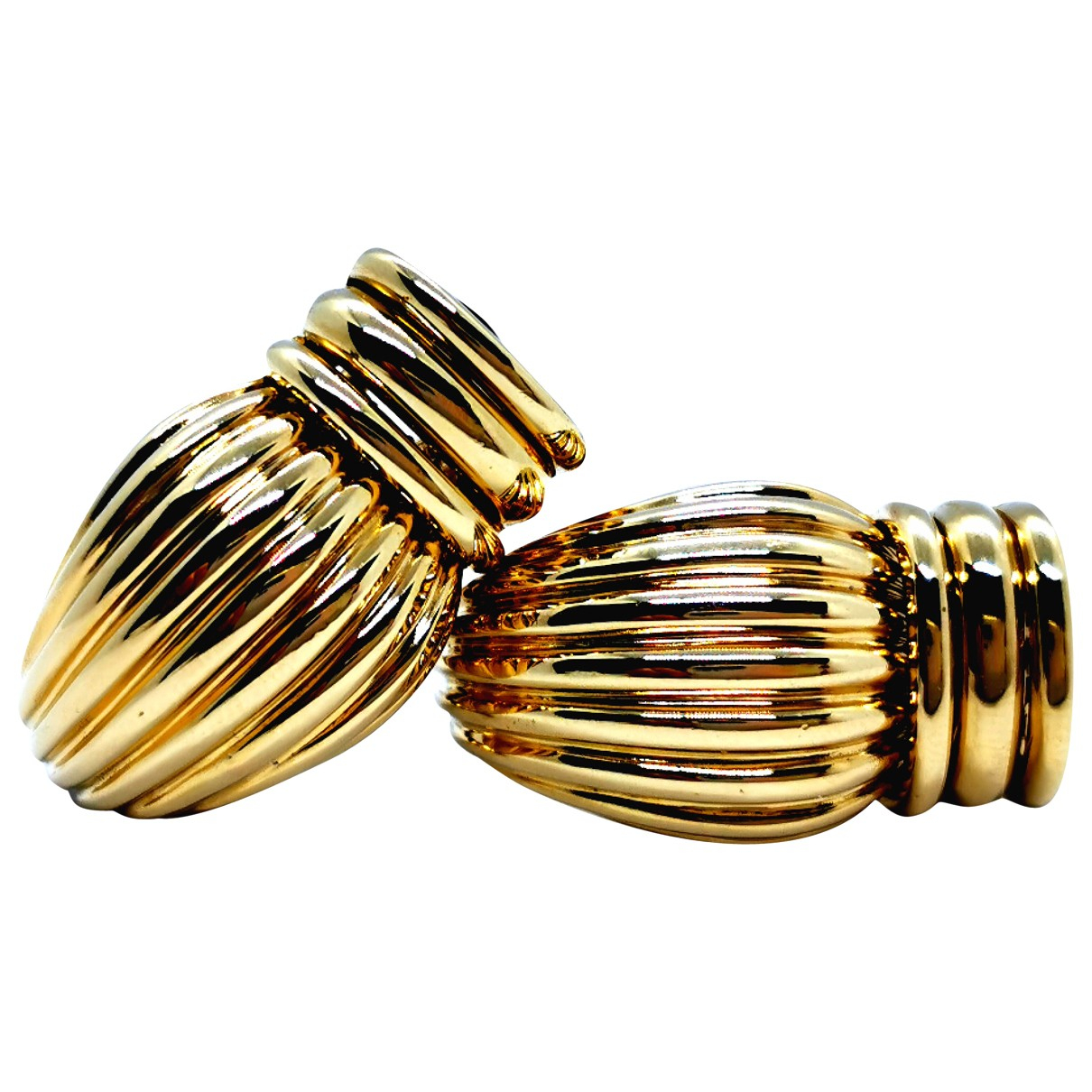 O.j. Perrin \N OhrRing in  Gold Gelbgold