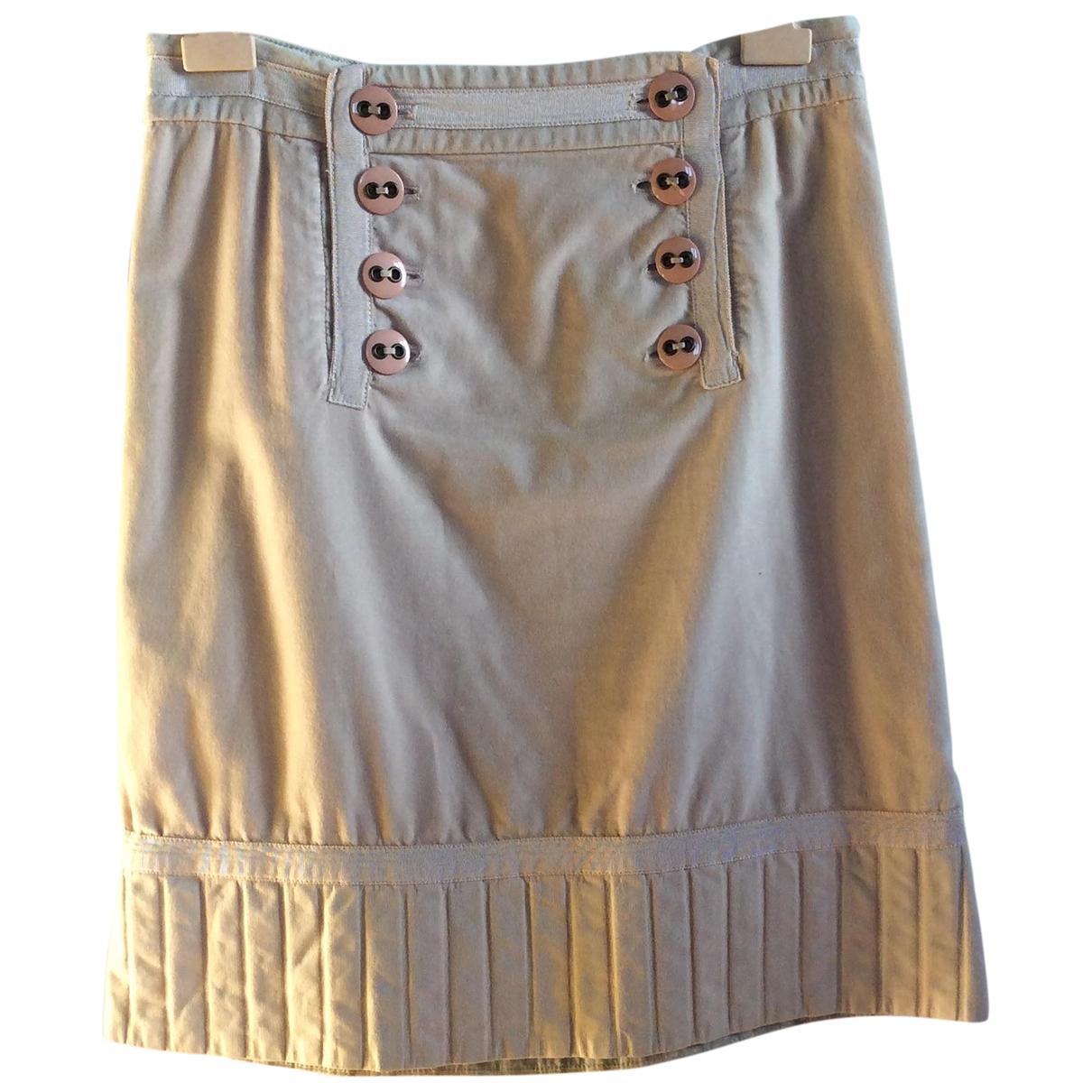 Marc Jacobs - Jupe   pour femme en velours - beige