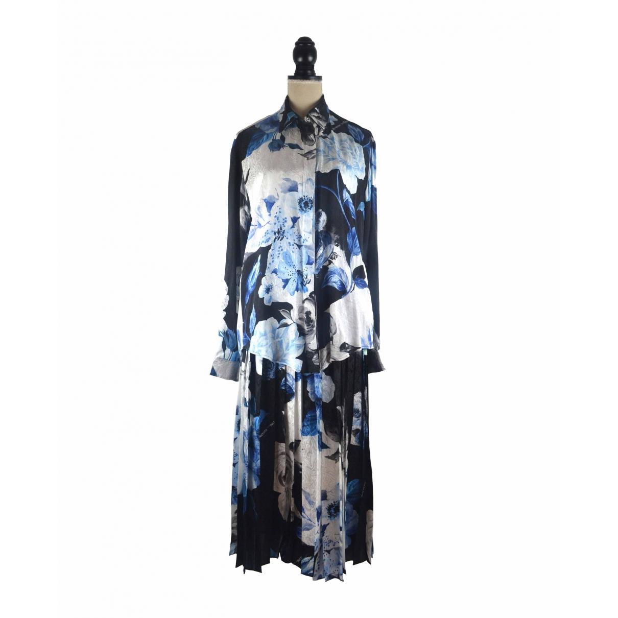 Off-white - Jupe   pour femme en soie - multicolore