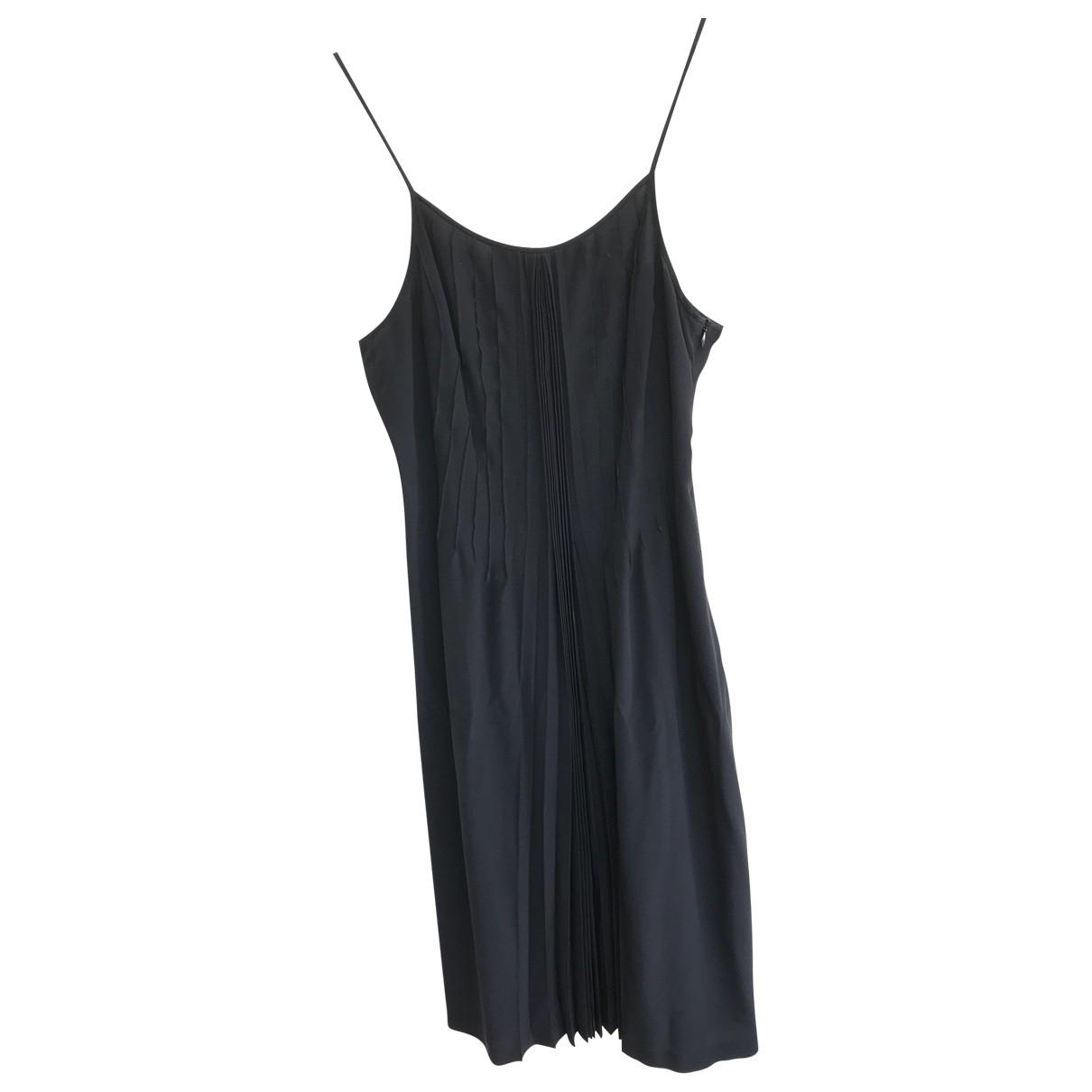 Aspesi \N Kleid in  Schwarz Seide