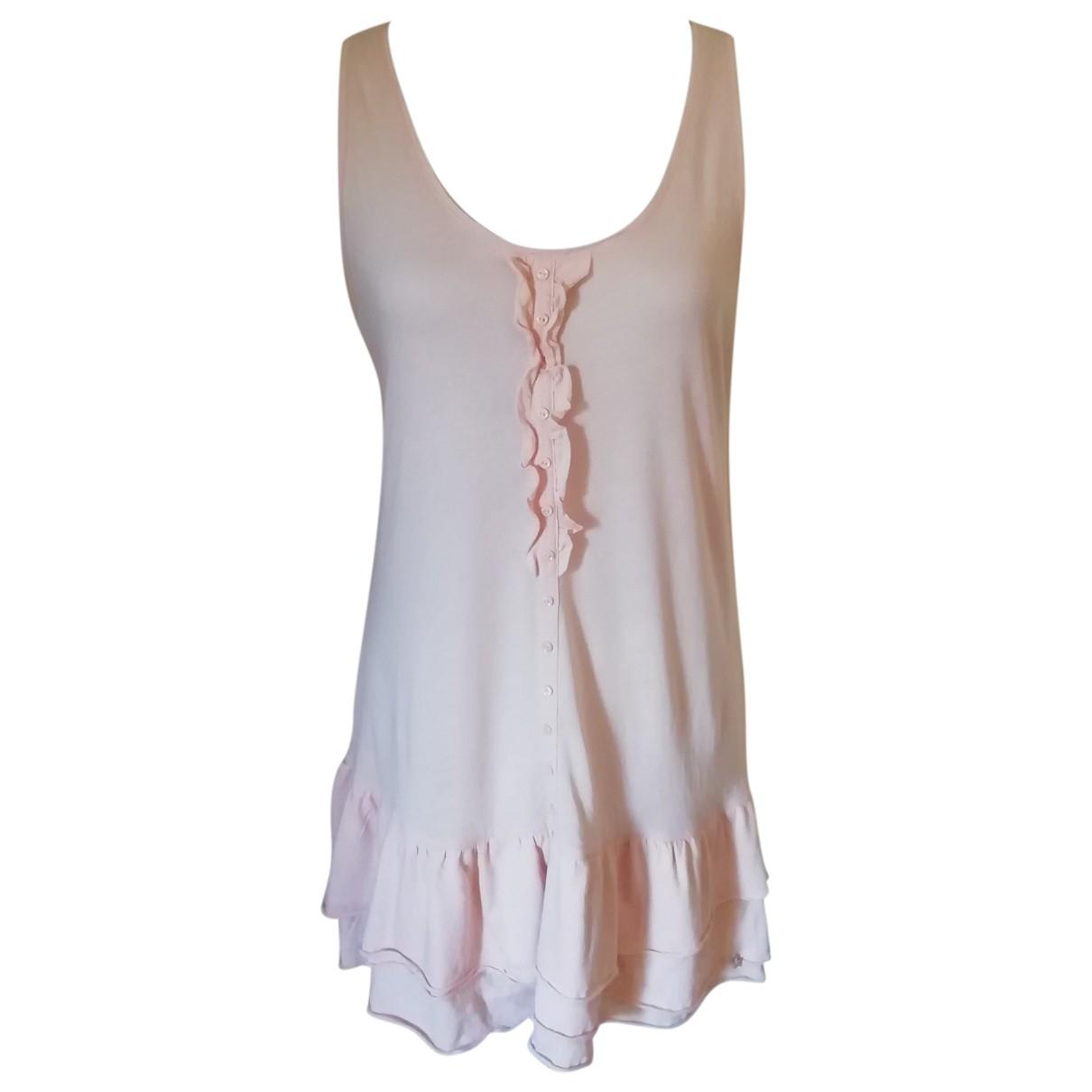 Des Petits Hauts - Robe   pour femme en coton - rose