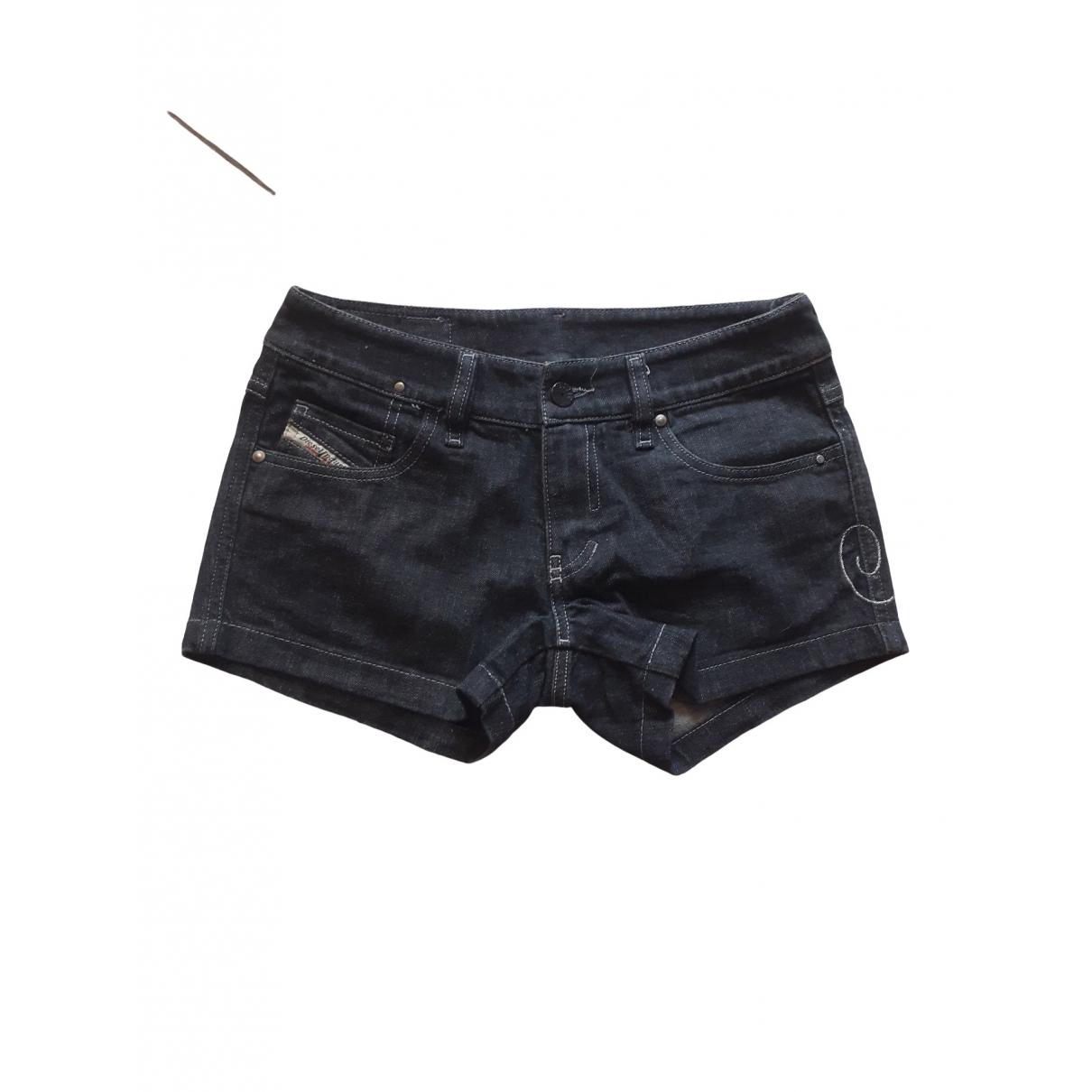 Diesel \N Shorts in  Schwarz Baumwolle