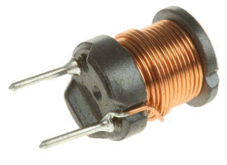 Wurth Elektronik Wurth 100 μH ±10% Ferrite Radial Inductor, 900mA Idc, 190mΩ Rdc, WE-TI (10)