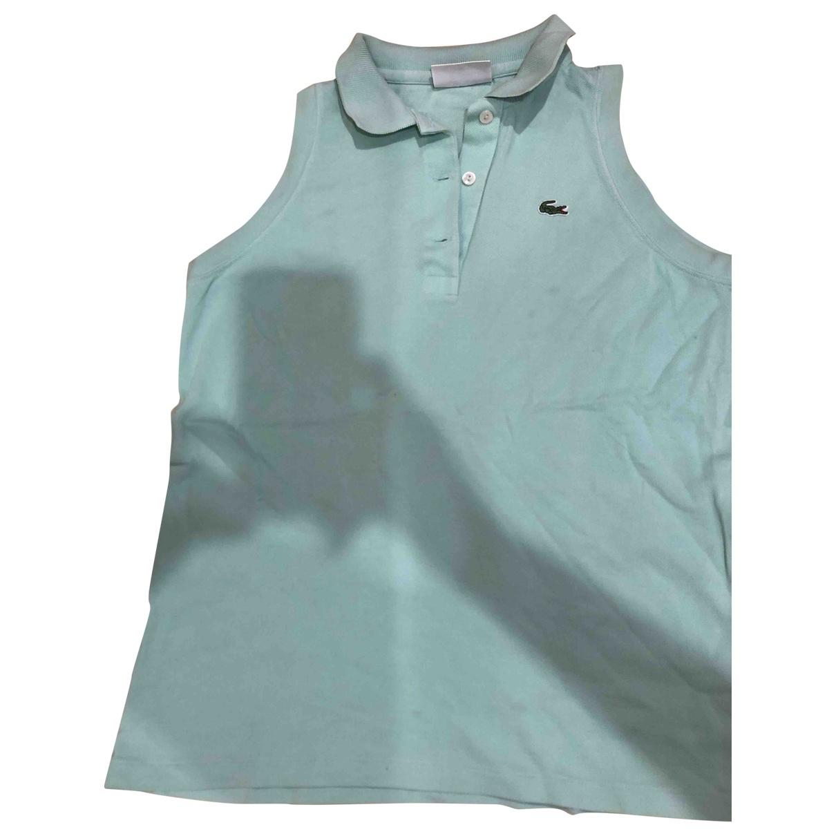 Lacoste \N Green Cotton  top for Women 42 IT