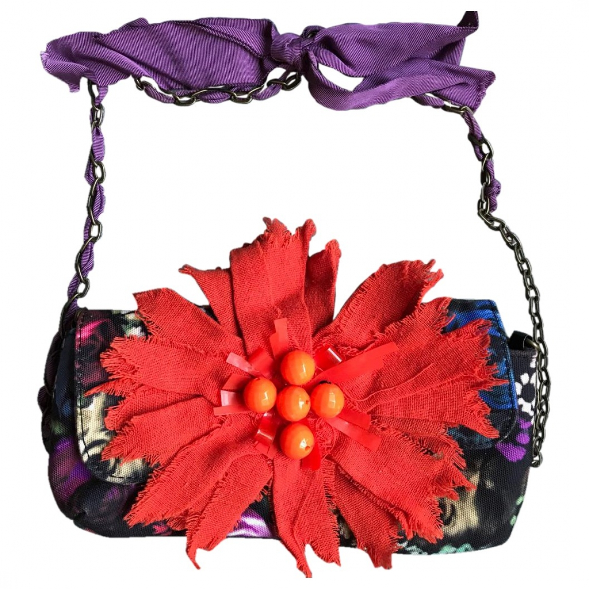 Bolsos clutch en Poliester Multicolor Lanvin For H&m