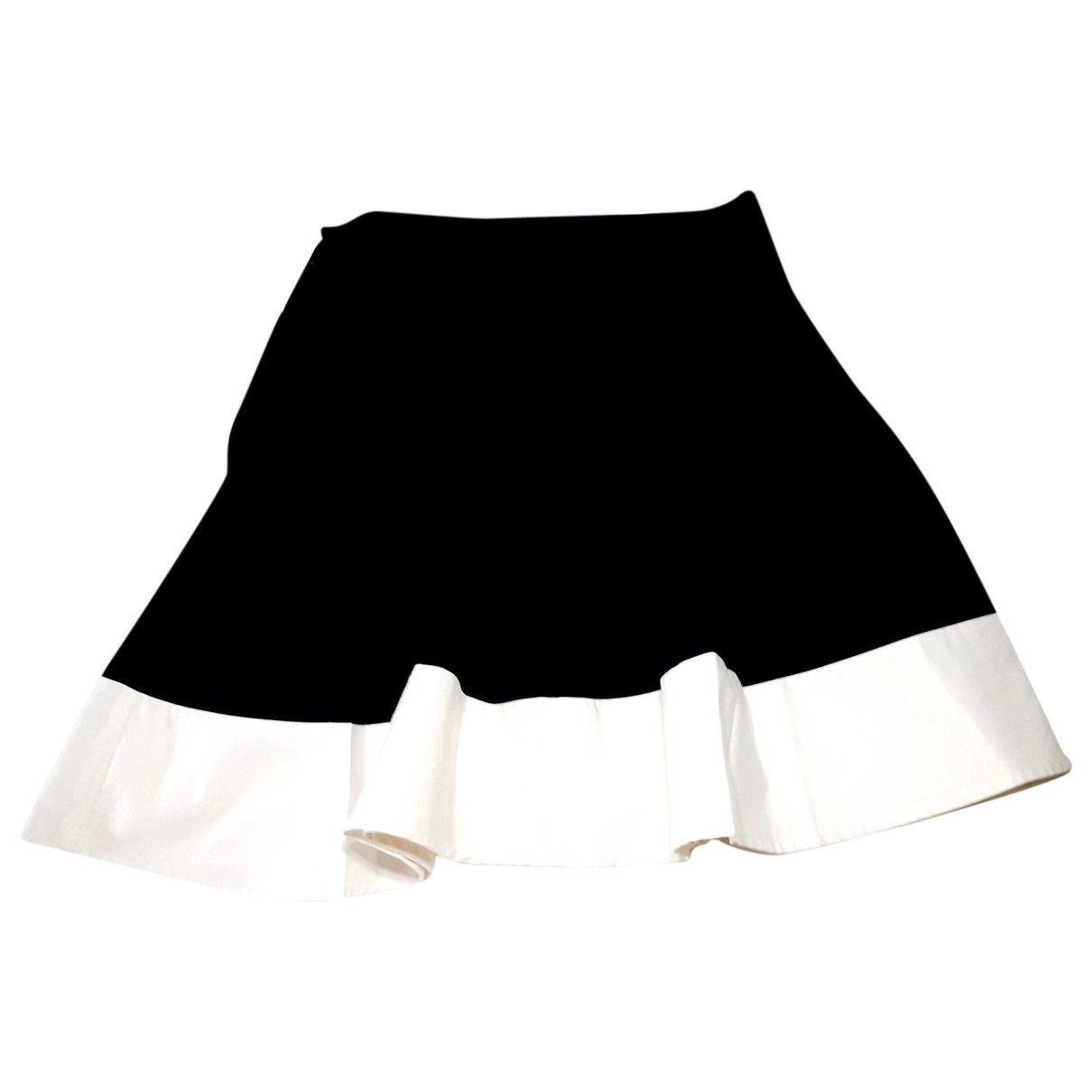Non Signé / Unsigned \N Black Cotton skirt for Women 4 US