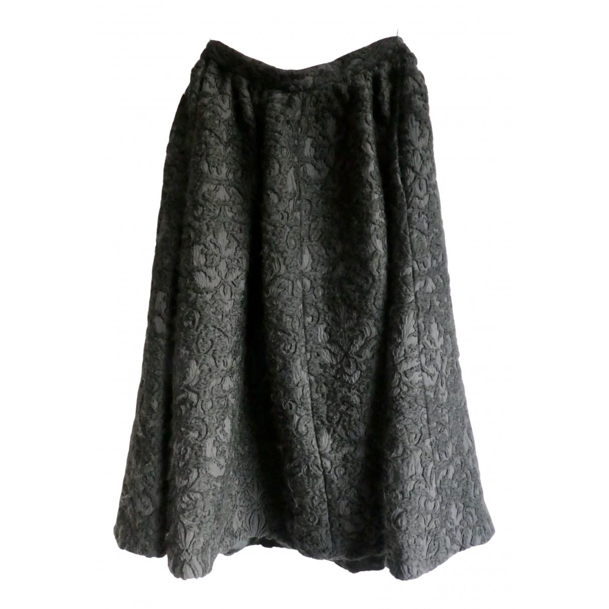 Eudon Choi - Jupe   pour femme en laine - noir