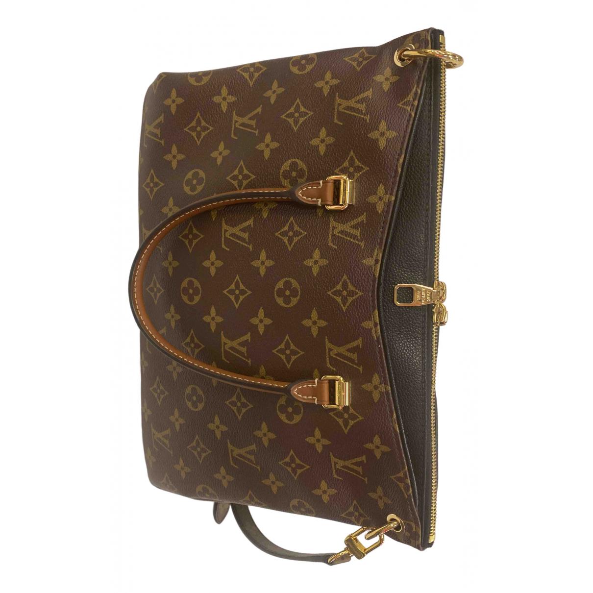 Bolso  Pallas de Lona Louis Vuitton