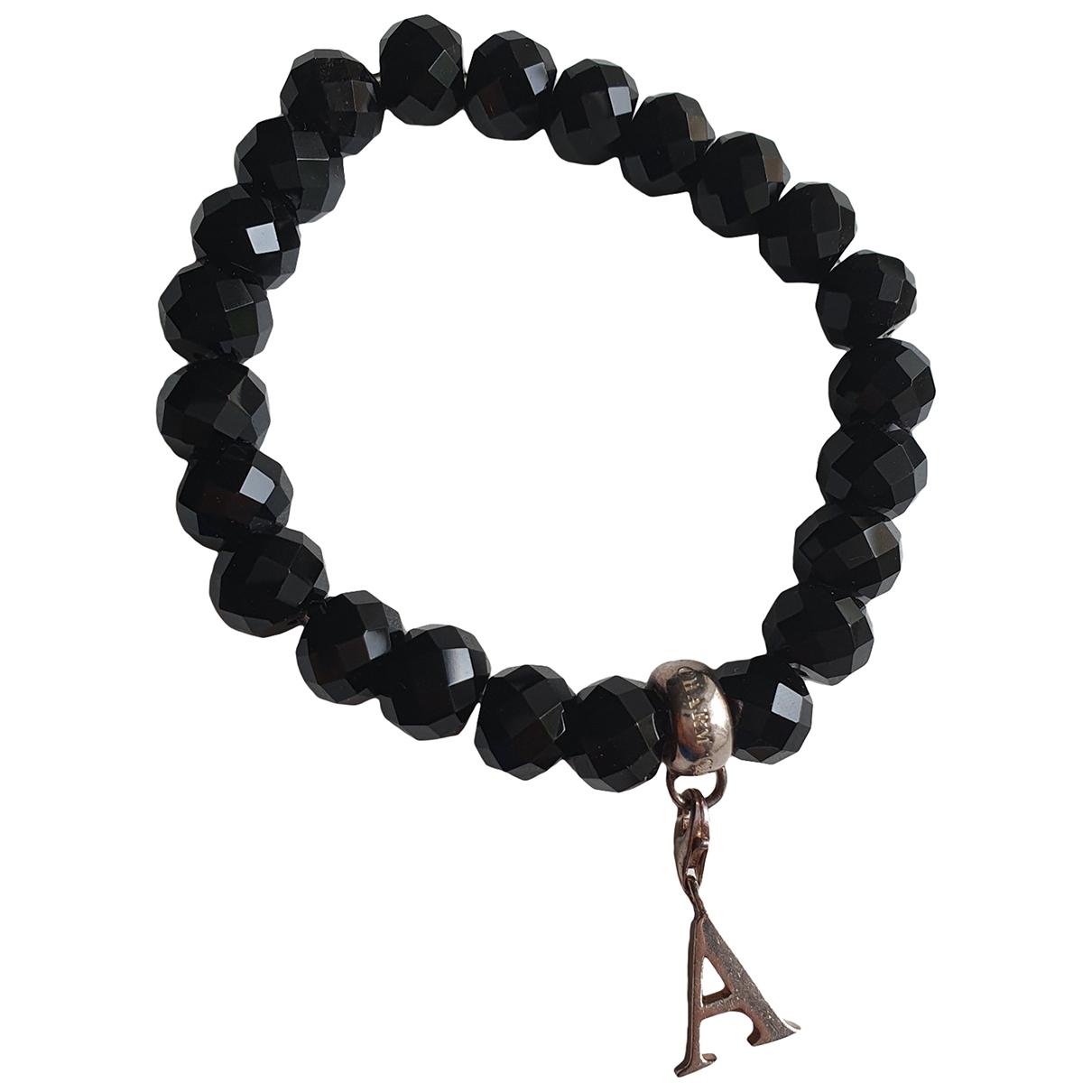Thomas Sabo - Bracelet   pour femme en cristal - noir