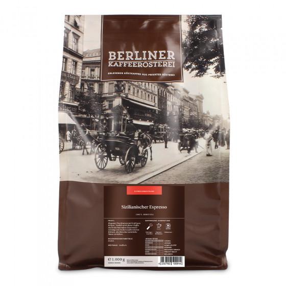 """Kaffeebohnen Berliner Kaffeerosterei """"Sizilianischer Espresso"""", 1 kg"""