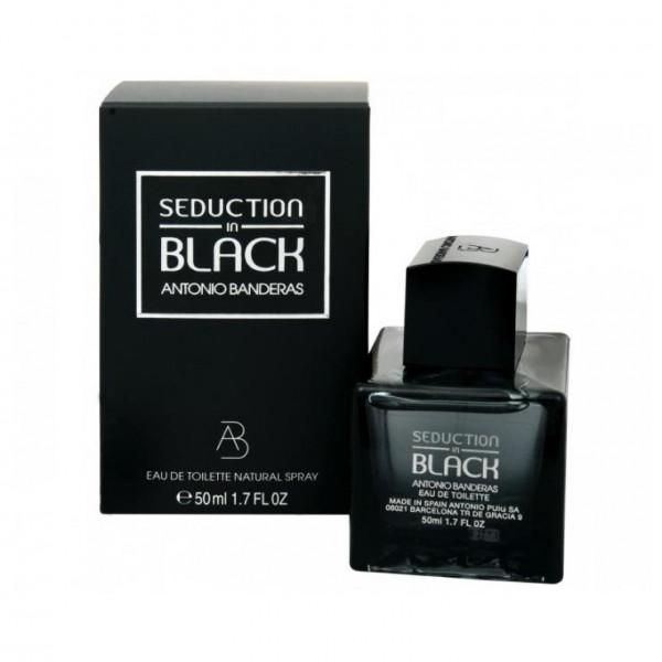 Antonio Banderas - Seduction In Black : Eau de Toilette Spray 1.7 Oz / 50 ml