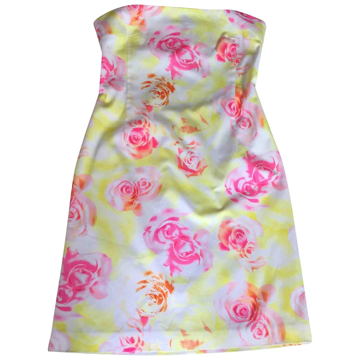 Versus - Robe   pour femme en coton - multicolore