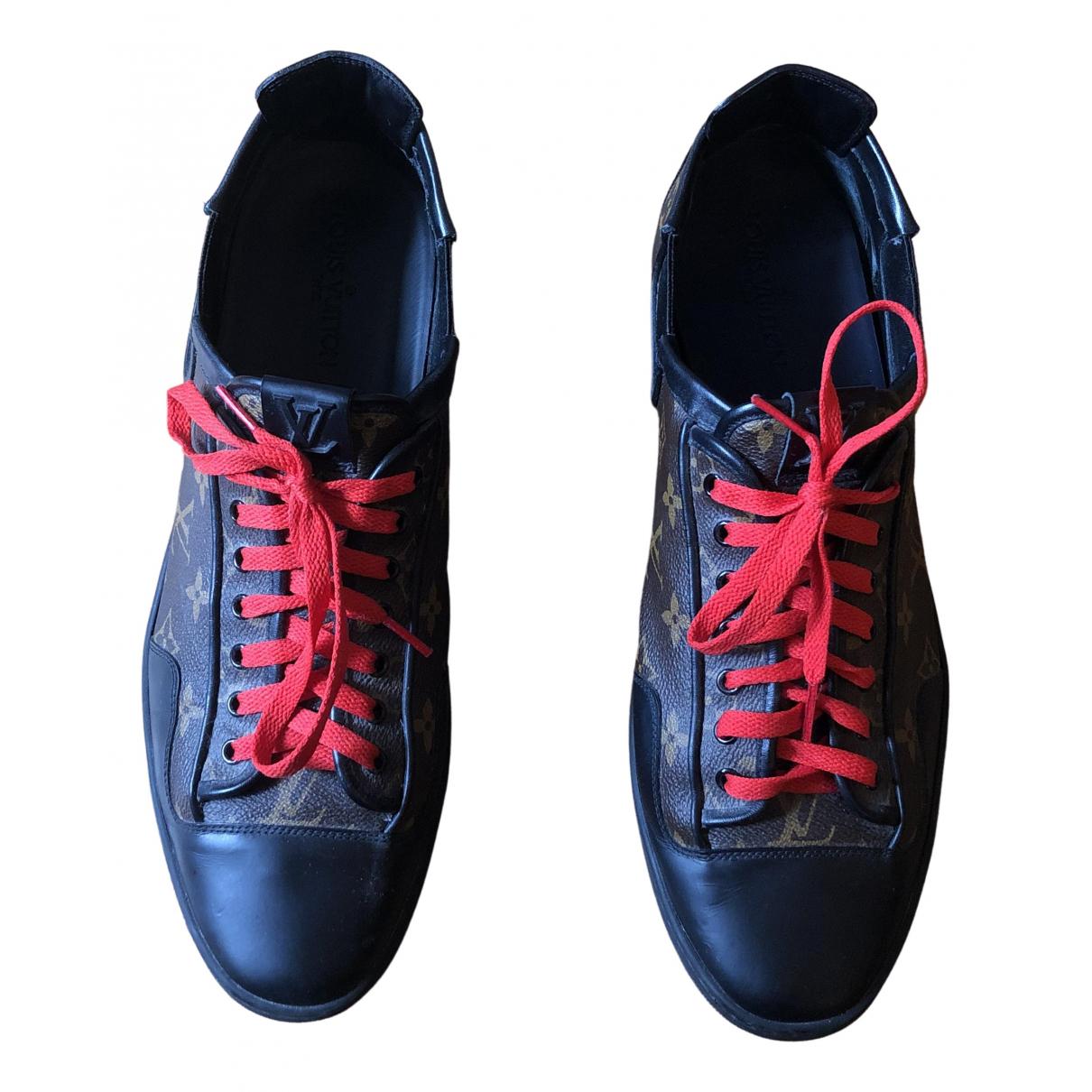 Louis Vuitton - Baskets   pour homme en cuir
