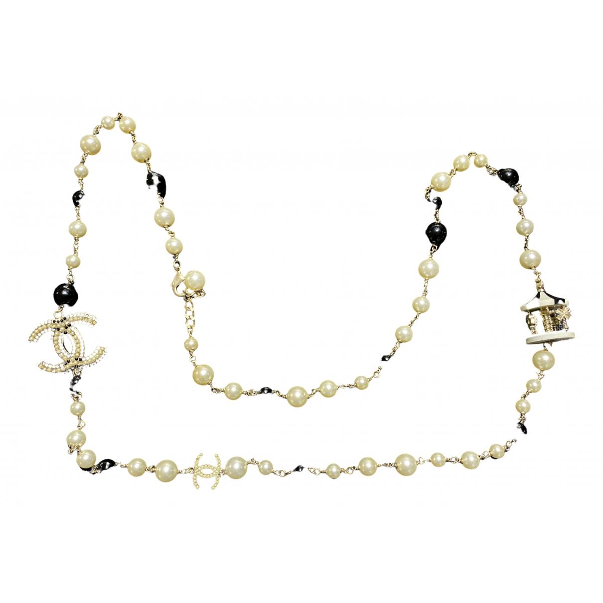 Chanel - Sautoir CC pour femme en perles