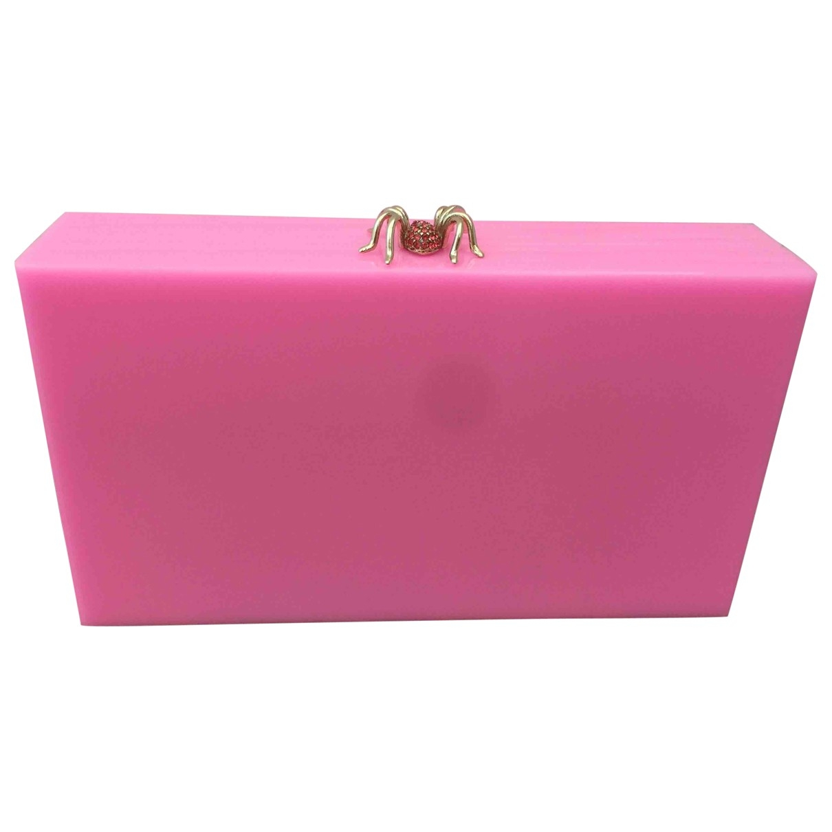 Charlotte Olympia \N Pink Clutch bag for Women \N