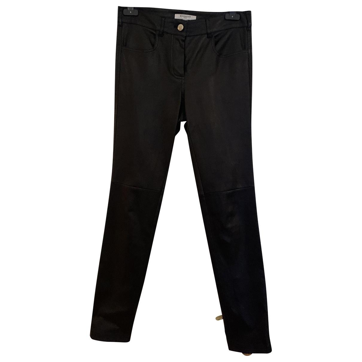 Pantalon pitillo de Cuero Givenchy