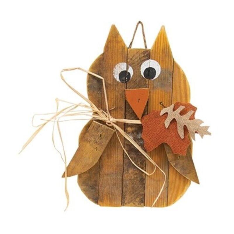 Hanging Fall Owl - Brown (Brown)