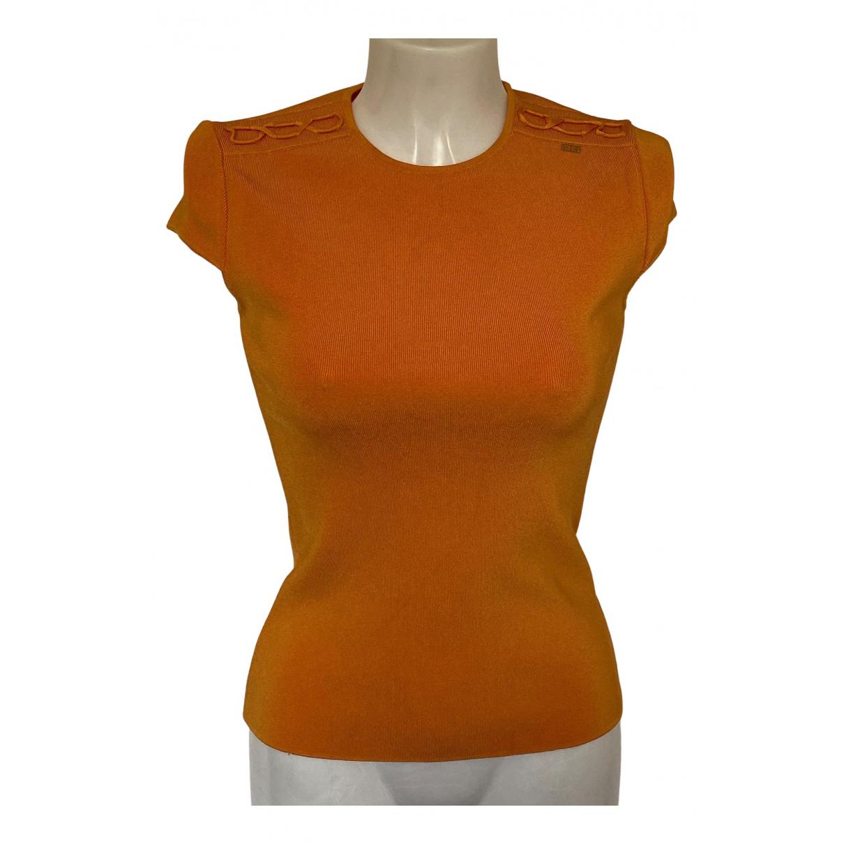 Elisabetta Franchi - Top   pour femme - orange