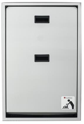 Legacy Collection 100SSV-R 34 Changing Station Vertical Mount with Plastic Covered Edges  Full Stainless Steel Frame and