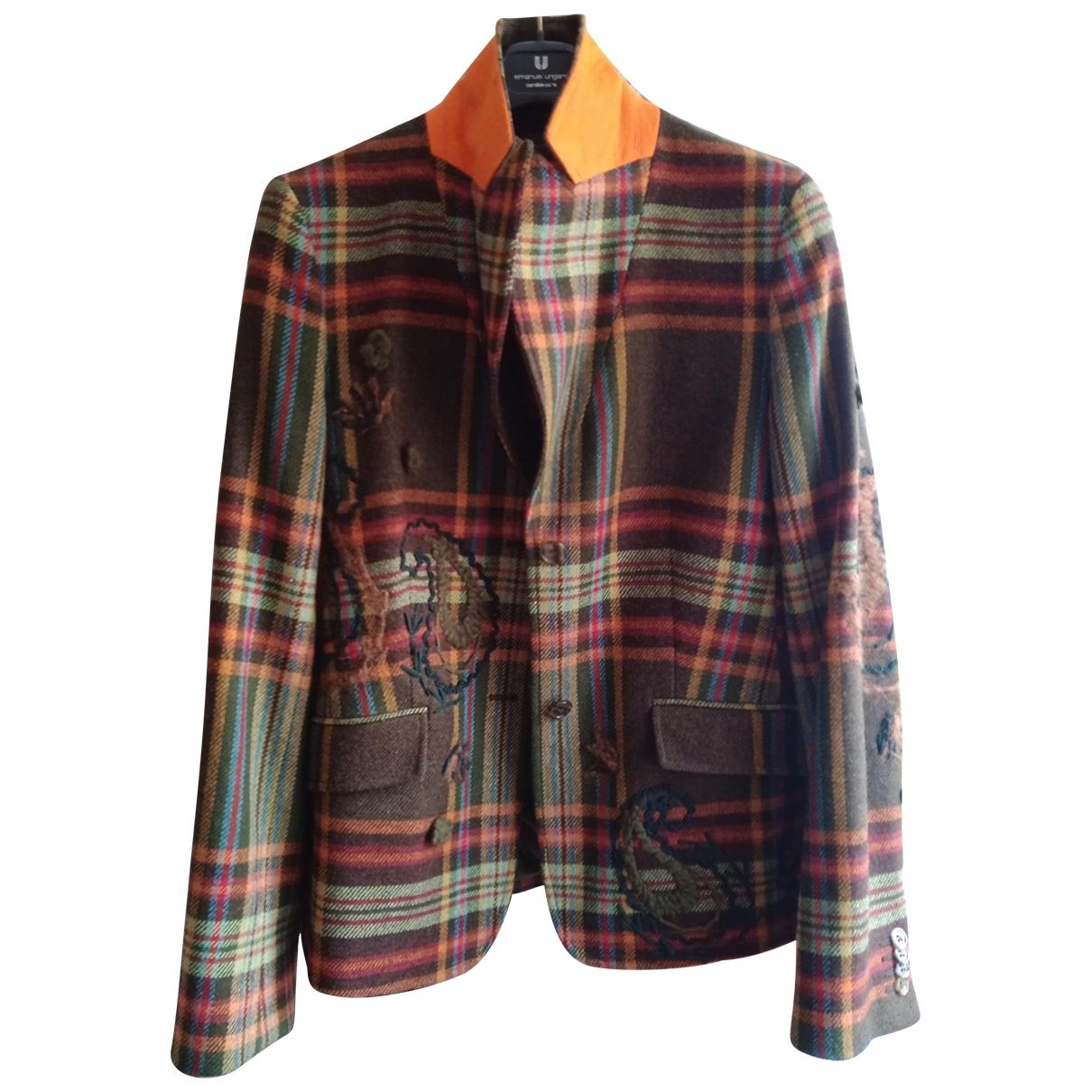 Etro \N Wool jacket for Women 44 IT