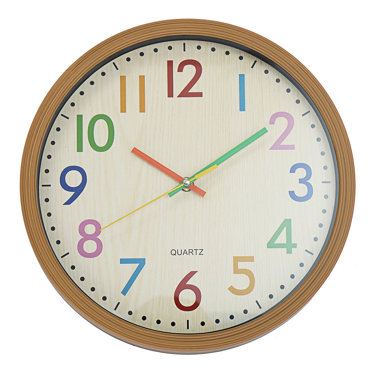 Silent Non-Ticking Quartz Wall Clock Decorative Indoor Quartz Analogue Clock