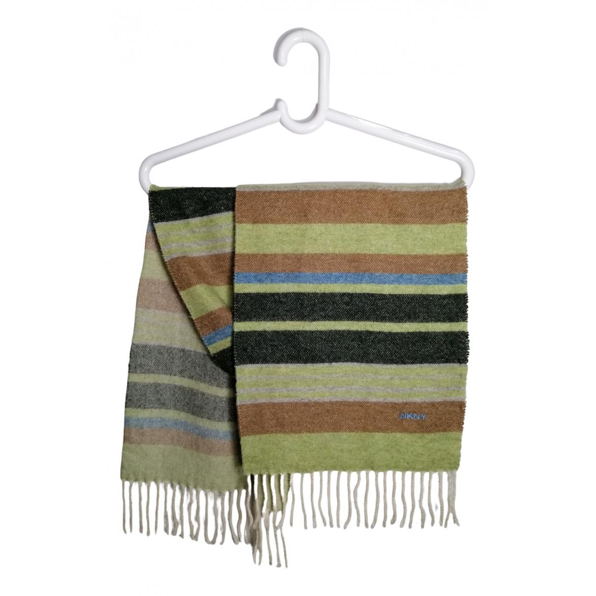 Dkny - Cheches.Echarpes   pour homme en laine - vert
