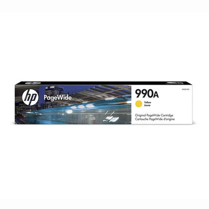 HP 990A M0J81AN Original Yellow PageWide Ink Cartridge