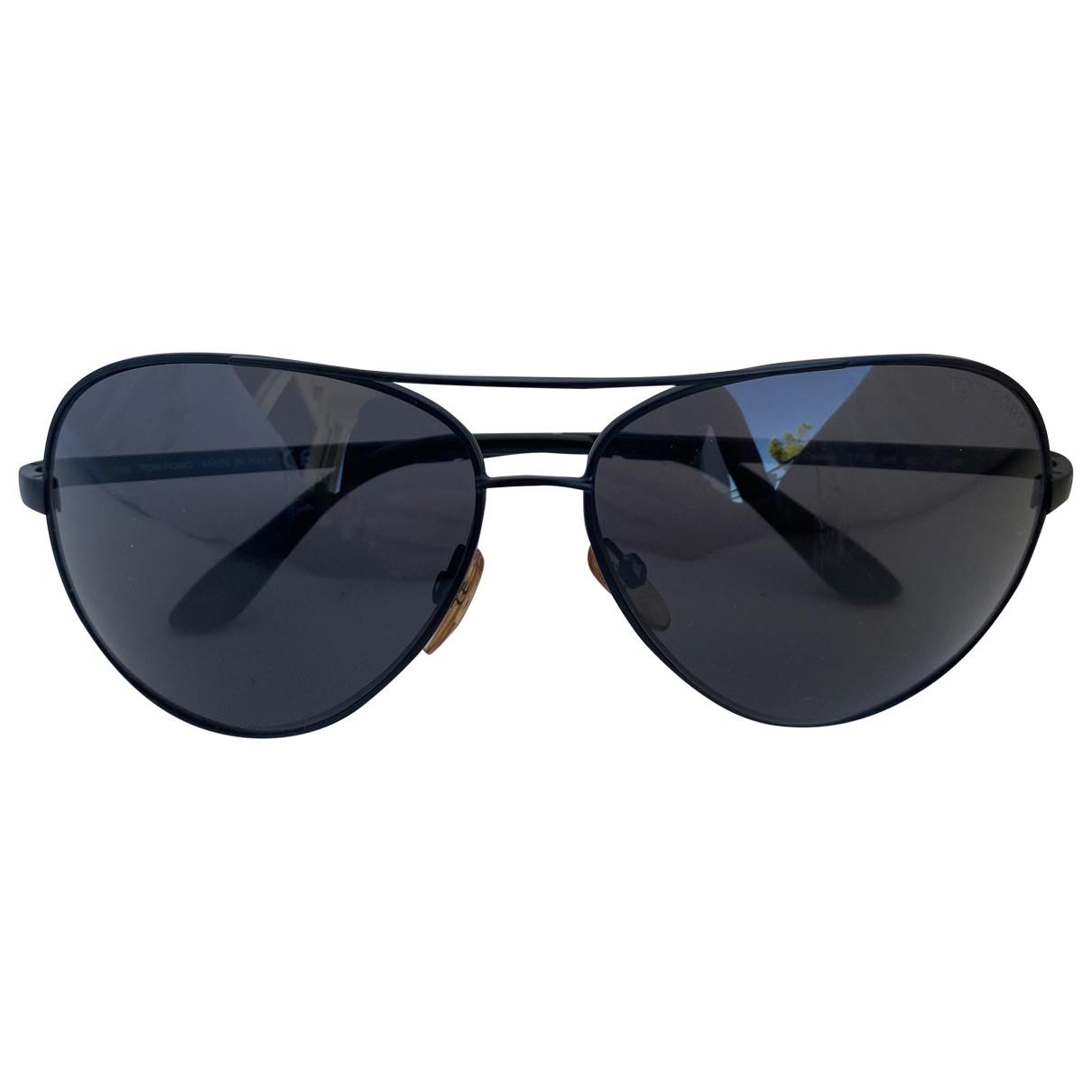 Tom Ford \N Black Metal Sunglasses for Women \N