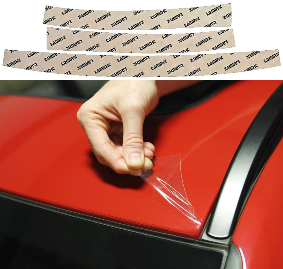 Mazda 3 Sedan 17-19 A-Pillar & Cab Top Edge Protection Lamin-X M3538