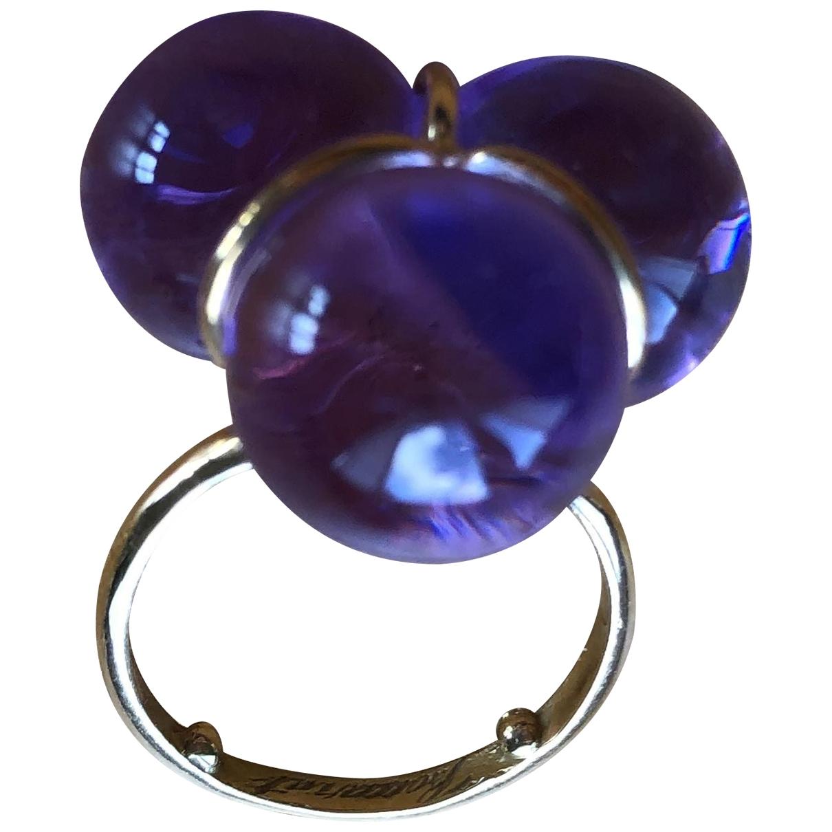Baccarat - Bague   pour femme en verre - violet