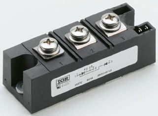 Vishay 600V 435A, Dual Silicon Junction Diode, 3-Pin INT-A-PAK VS-VSKDU300/06PBF